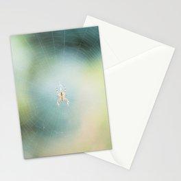 spring spider Stationery Cards