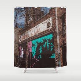 New York Street Artist Shower Curtain
