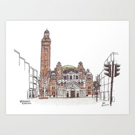 Westminster Cathedral Art Print
