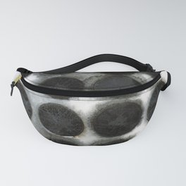 WATERCOLOUR DISCS: Black Spinel Fanny Pack