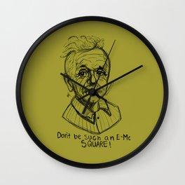 Hipstory Lessons: Albert Einstein Wall Clock