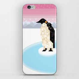Penguin Time iPhone Skin