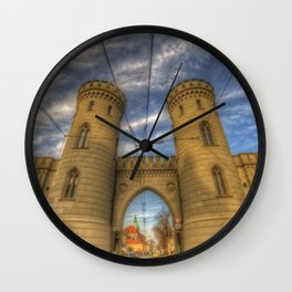 Potsdam twin towers Wall Clock