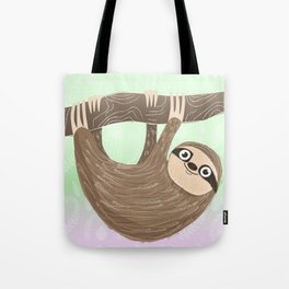 Hello Sloth Tote Bag