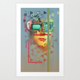 Warped Vision Art Print