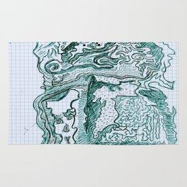 Encre vert Rug
