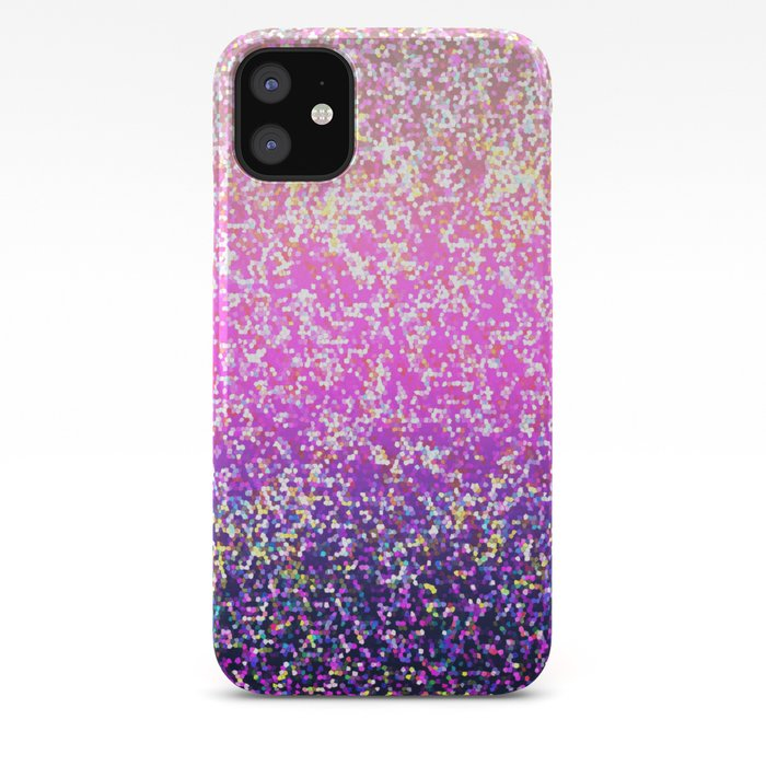 Glitter Graphic Background G104 iPhone Case