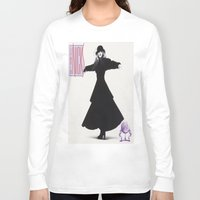 stevie nicks Long Sleeve T-shirts featuring stevie nickes by robert degollado