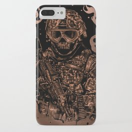 Military skull iPhone Case