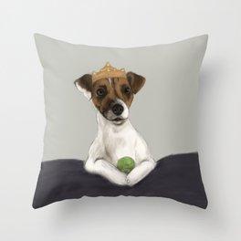 Queen Mabel Throw Pillow