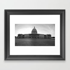 On The Hill Framed Art Print