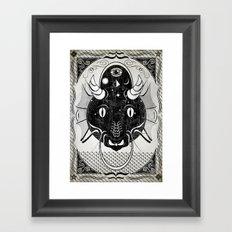 Luck Dragon Framed Art Print