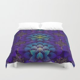 Variations on A Feather IV - Stars Aligned Duvet Cover