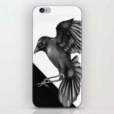 Crow and the Moon 2 iPhone & iPod Skin