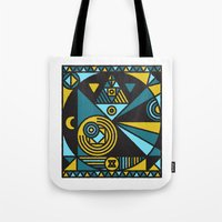 fullmetal alchemist Tote Bags featuring Witchcraft Alchemist by thedeadprocession