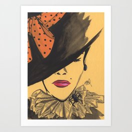 Sophisticated Witch Art Print