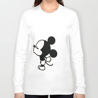 mickey Long Sleeve T-shirts featuring mickey by ABTD