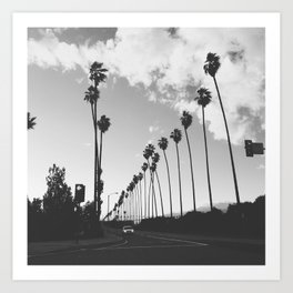 Southern California on a Saturday Art Print