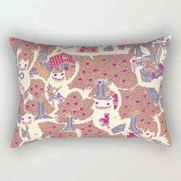 The orchard is such a very silly place Rectangular Pillow