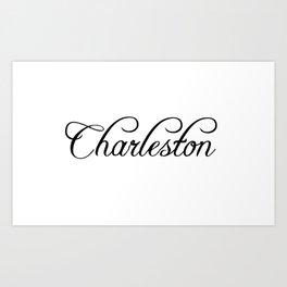 Charleston Art Print