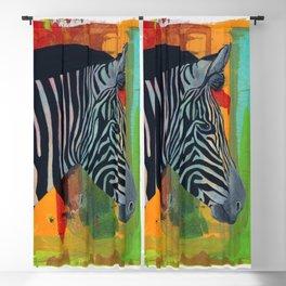 Zebra Blackout Curtain