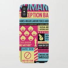 Contraception Ban Slim Case iPhone X