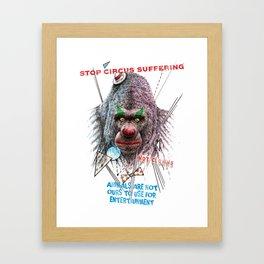 Not Clowns Framed Art Print