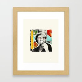 WE ONLY WANT YOUR SOUL Framed Art Print
