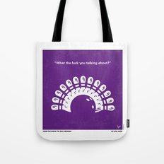 No010 My Big Lebowski minimal movie poster Tote Bag