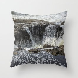 Thor's Well, No. 3 Throw Pillow