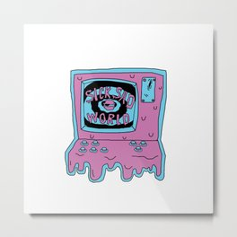 sicksadworld karaoke Metal Print