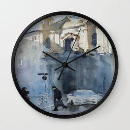 Una Chiesa Wall Clock