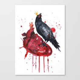 Hard Love Canvas Print