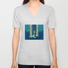 PATH AHEAD Unisex V-Neck