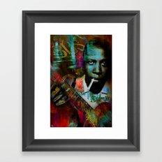 Robert johnson Framed Art Print