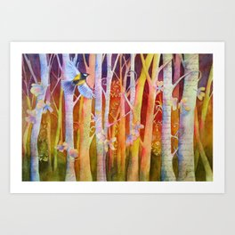 Soaring Through Art Print
