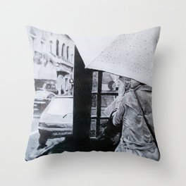 """In The City"" Throw Pillow"