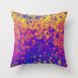 Funky Storm Throw Pillow