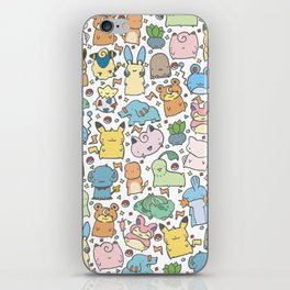 Kawaii Pokémon iPhone Skin