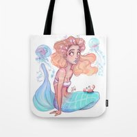 cancer Tote Bags featuring Cancer by Laia™