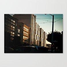 SF Winding Down Canvas Print