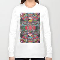 african Long Sleeve T-shirts featuring AFRICAN MOTIF  by Vasare Nar
