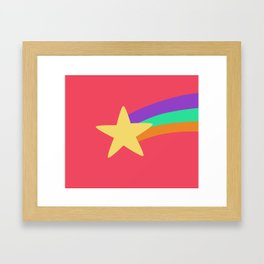 Mabel Star Framed Art Print
