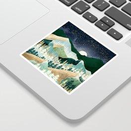Spring Night Vista Sticker