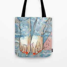 Footbath Tote Bag