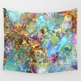 Mermaids Treasure Wall Tapestry