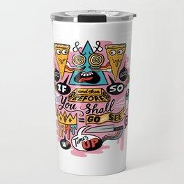 Pizza Mystery Travel Mug