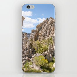 tufas and green iPhone Skin