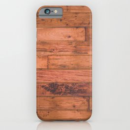 Red Hickory iPhone Case