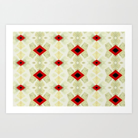 Formations Art Print